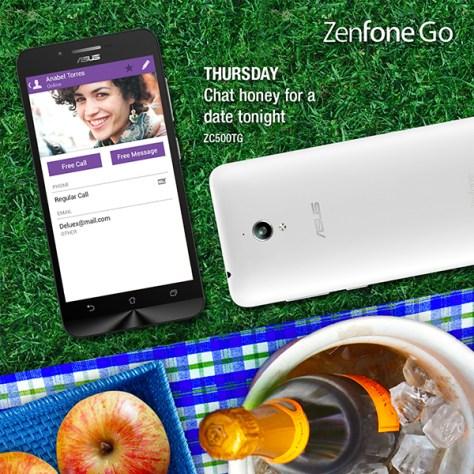 Asus Zenfone Go 7 Days of Summer Thursday