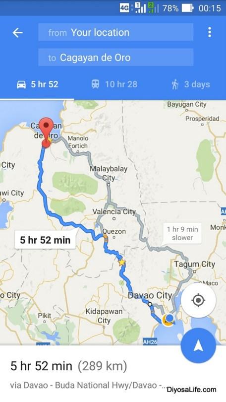 Roadtrip Fridays with ZenFone Go and Google Maps