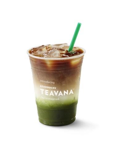 Starbucks Iced Espresso and Matcha Fusion