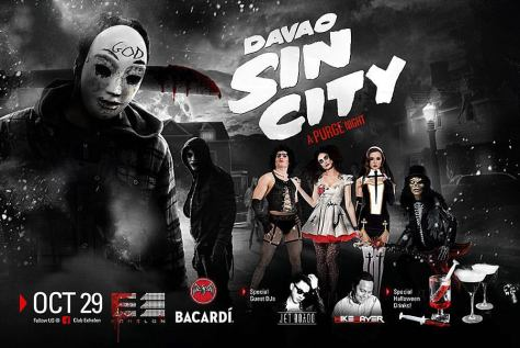Sin City Bacardi Halloween Party at Echelon with Jet Boado
