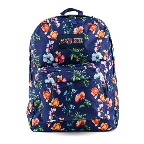 Lazada Grand Christmas Sale 2016 Jansport Superbreak Backpack in Mountain Meadow Print
