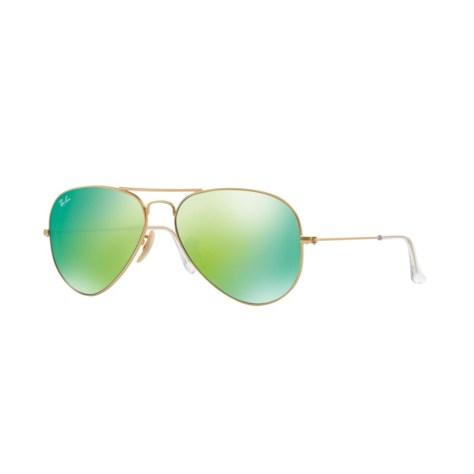 Lazada Grand Christmas Sale 2016 Ray-Ban Aviator Flash Lenses Green Flash