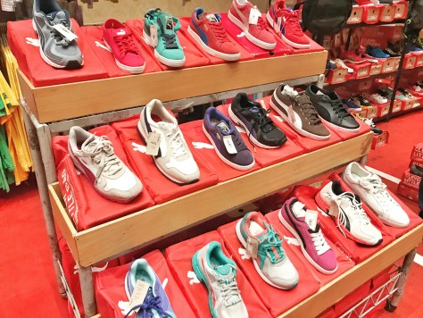Puma Shoes at the Off Price Show Davao 2017