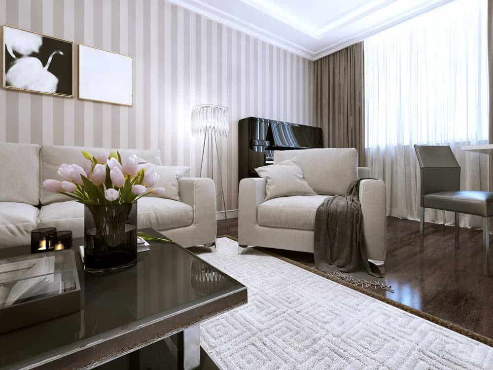 painting your living room with yellow sofa 10 ideas to give new life diy tips striped