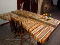 Table made with pallet boards | Natural Transformations