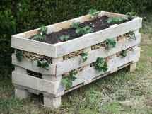 Make Planter With Single Palletdiy Pallet