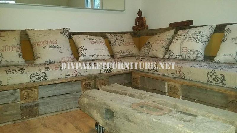 build living room furniture lighting for uk rustic corner sofa built with palletsdiy pallet ...