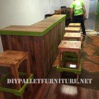 Stools and bar with palletsDIY Pallet Furniture | DIY ...