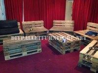 Pallet furniture for a living room 2DIY Pallet Furniture ...