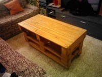 Living room pallet table with drawersDIY Pallet Furniture ...