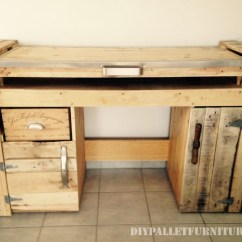Foldable Table And Chairs Garden White Wood High Chair Desktop With A Pcdiy Pallet Furniture | Diy
