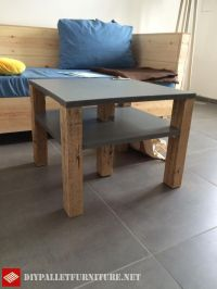 Full living room furnished with palletsDIY Pallet ...