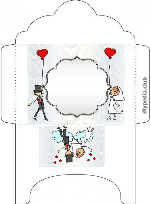 Wedding envelope templates for print out • DIYpedia