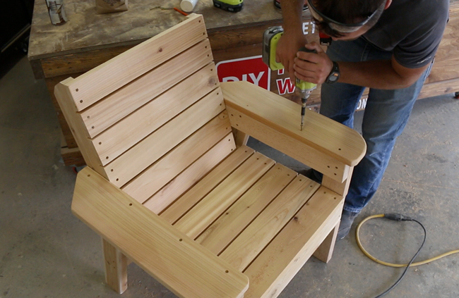 Diy Patio Chair Plans And Tutorial  Step By Step Videos