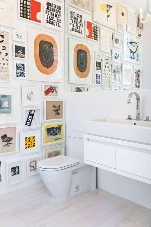 Trends Diy Decor Ideas : Cadres photos et art dans la salle de ...