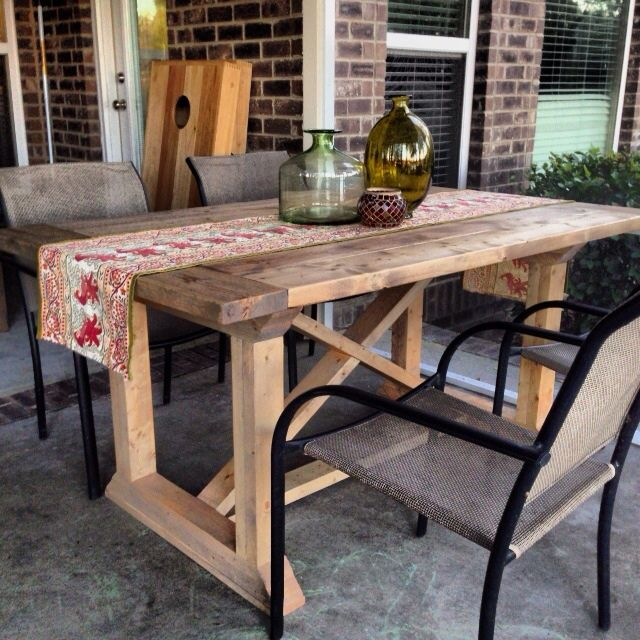 Build A Dining Room Table: Diy Furniture : How To Build A Rekourt Dining Room Table