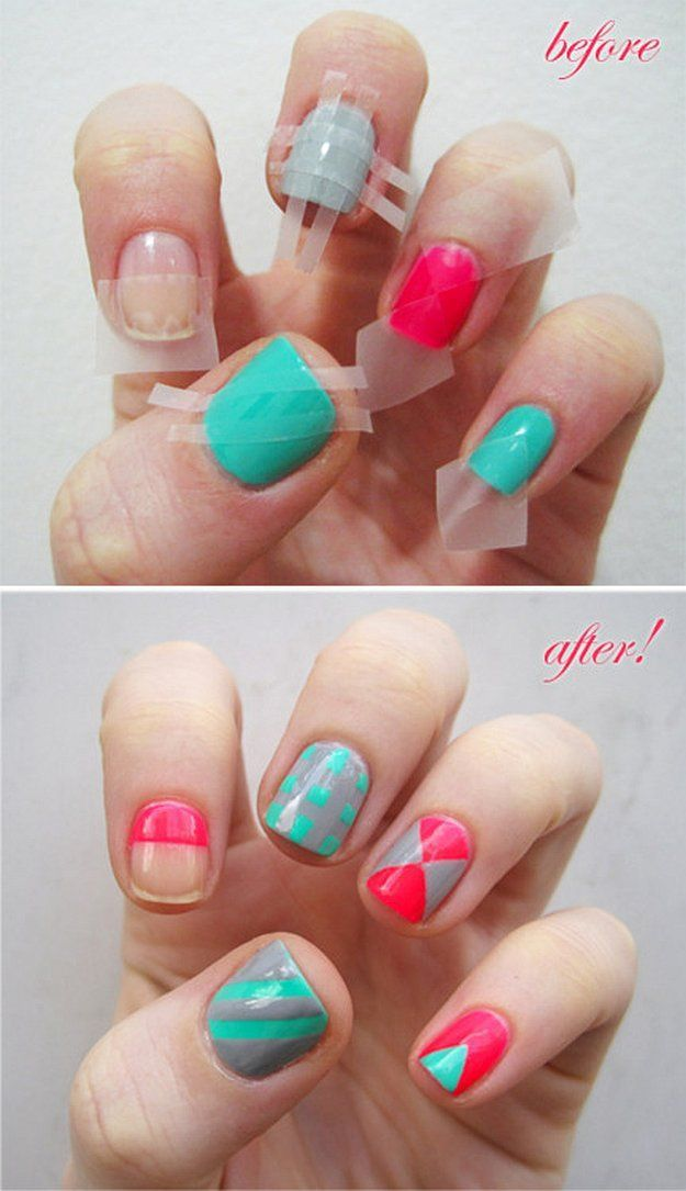 diy - Simple Nail Design Ideas