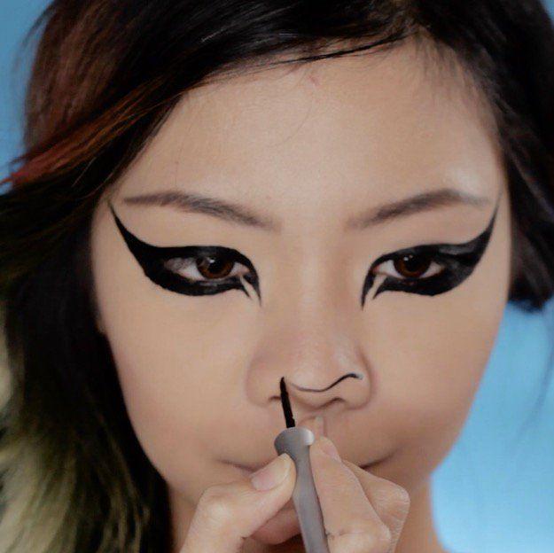 diy makeup tutorials snapchat lion filter super cute halloween makeup tutorial easy costume ideasu2026