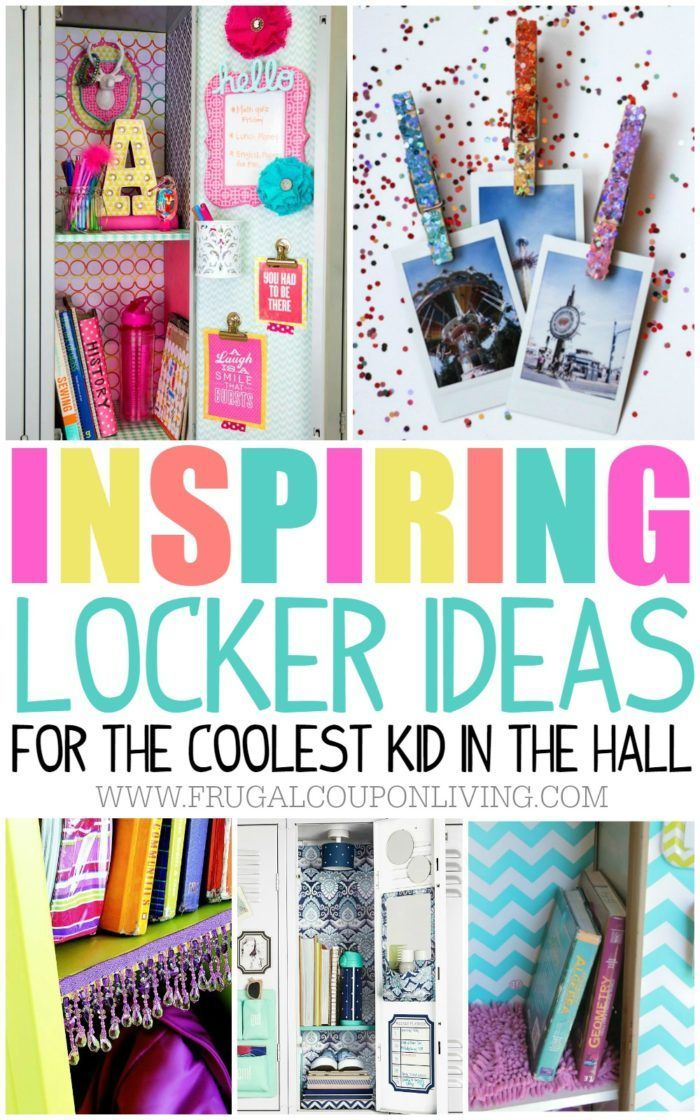 Fun And Creative Locker Ideas For The Coolest Kid In The Hall. School  Locker Org