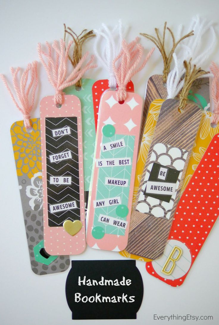 Diy Crafts Ideas Handmade Bookmarks Back To School Diy Diypick Com Your Daily Source Of Diy Ideas Craft Projects And Life Hacks