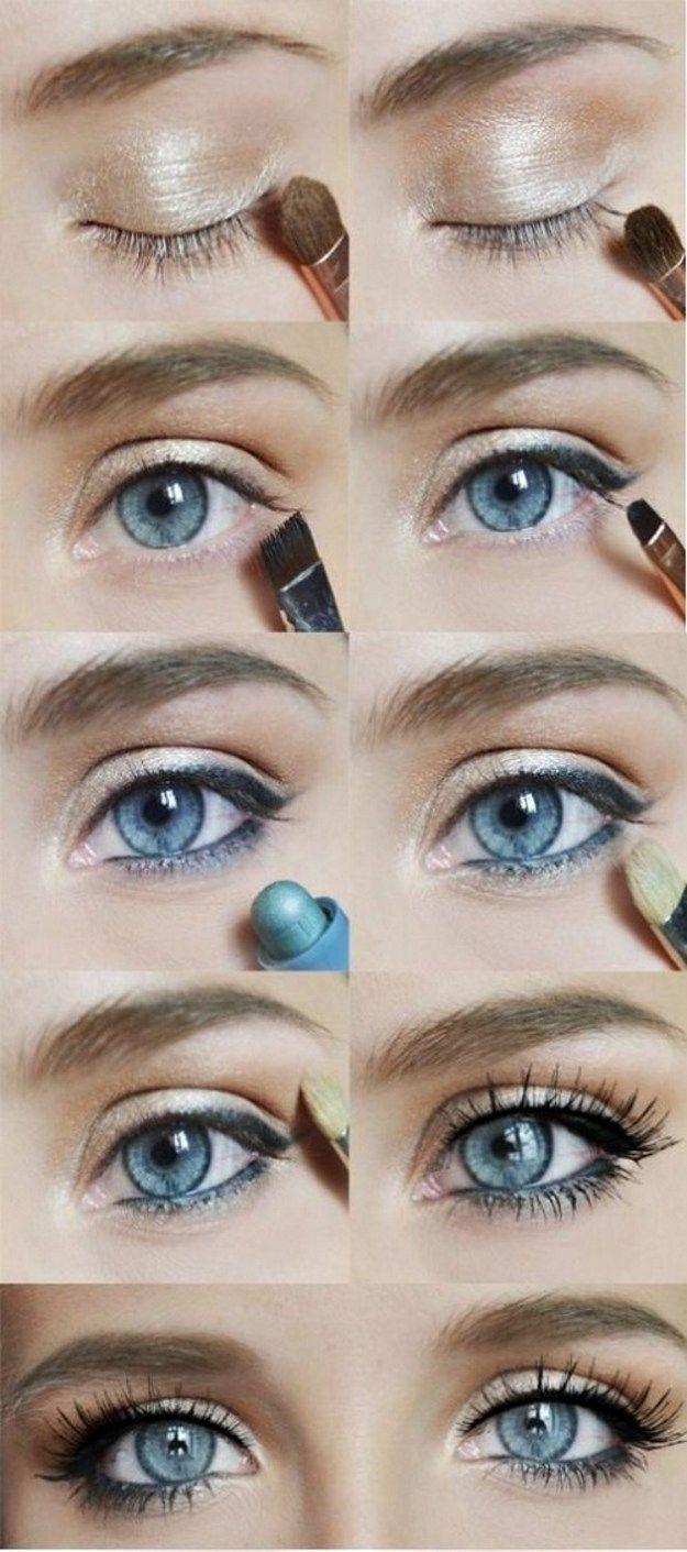 natural makeup look for hazel eyes - style guru: fashion, glitz