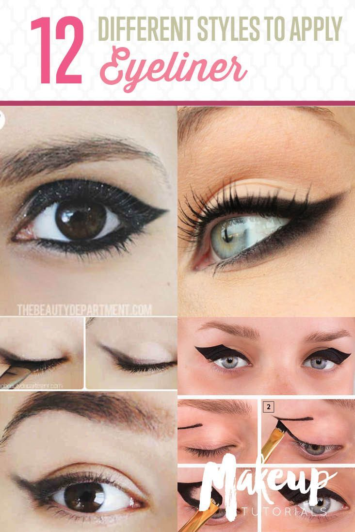12 Different Eyeliner Tutorials To Switch Up Your Look: DIY Makeup Tutorials : 12 Different Eyeliner Tutorials You