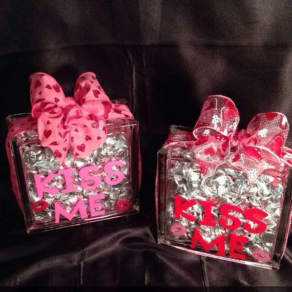 DIY Valentines Day Gifts Kiss Me Valentines Day Gift
