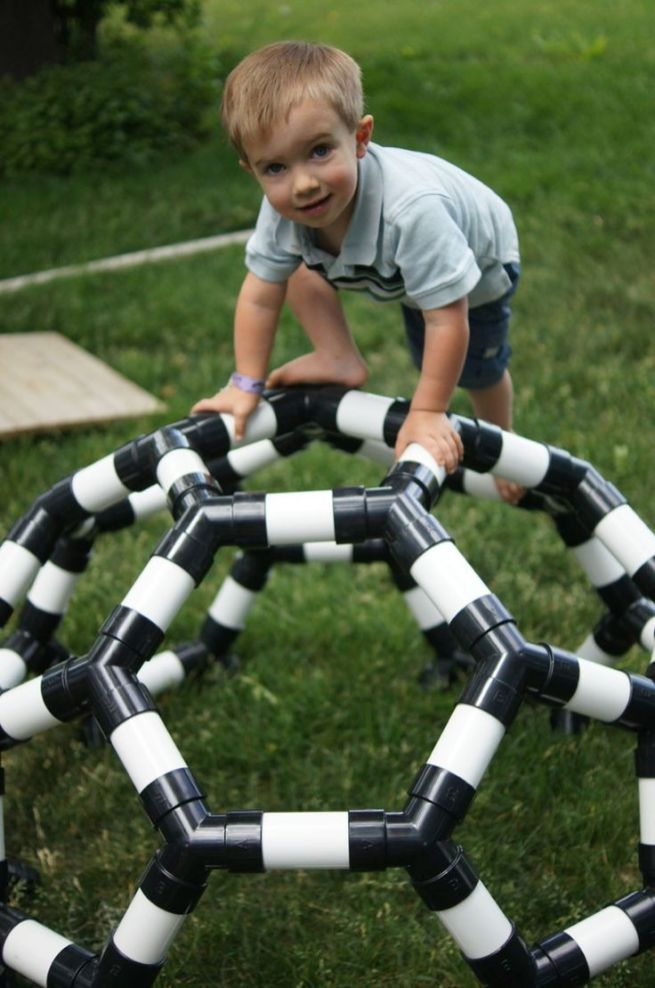 5 DIY PVC Pipes Outdoor Toys for Kids