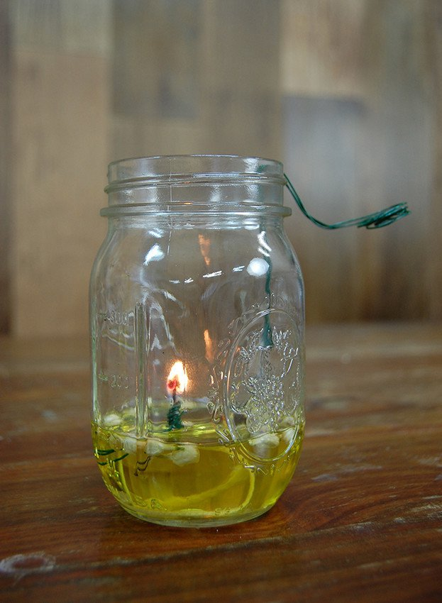 How to Make a Mason Jar Oil Lamp DIY Projects Craft Ideas  How Tos for Home Decor with Videos