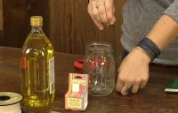 How to Make a Mason Jar Oil Lamp DIY Projects Craft Ideas ...