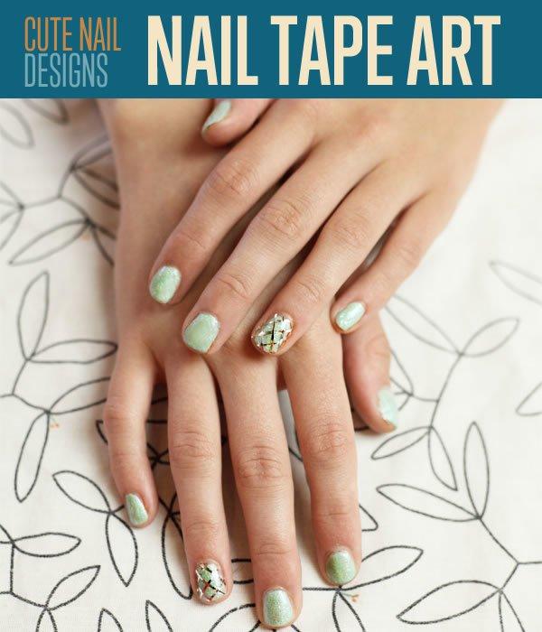 Cute Nail Designs Tape