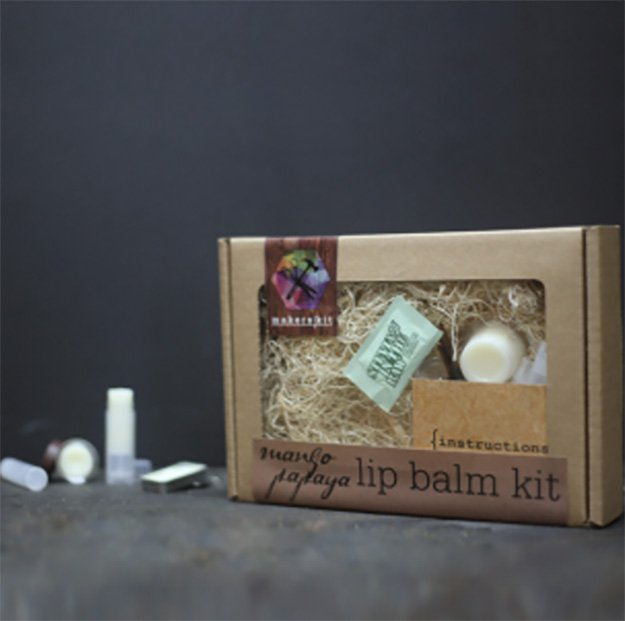 DIY Lip Balm Kit via https://www.craftpantry.com/mango-papaya-lip-balm-diy-kit.html