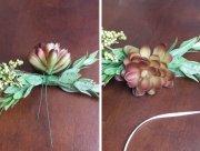 make flower crown hair