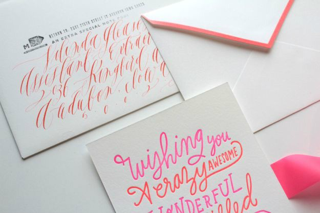 Christmas Calligraphy Cards DIY Projects Craft Ideas & How