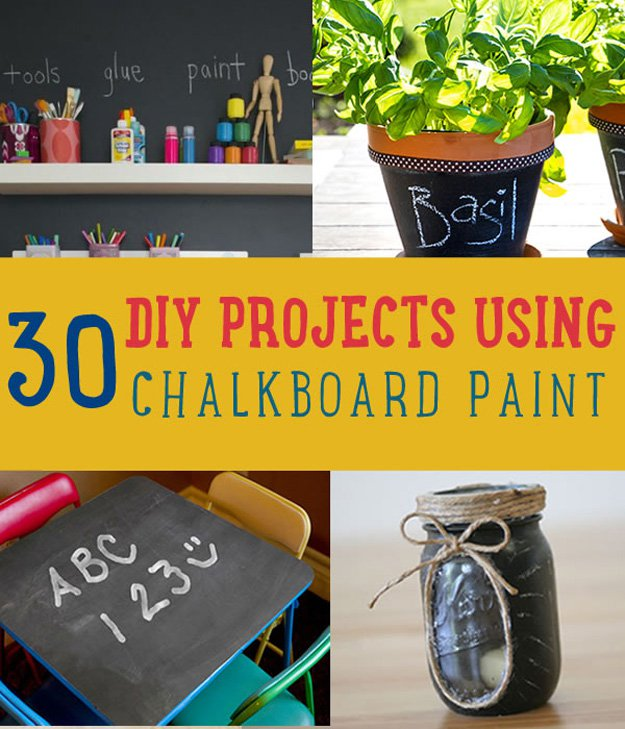 Uses For Chalkboard Paint DIY Projects Craft Ideas Amp How