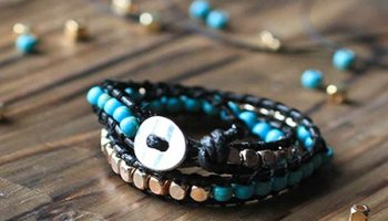 DIY Beaded Bracelet | DIY Jewelry Making Ideas and Do It Yourself Fashion | DIY Projects