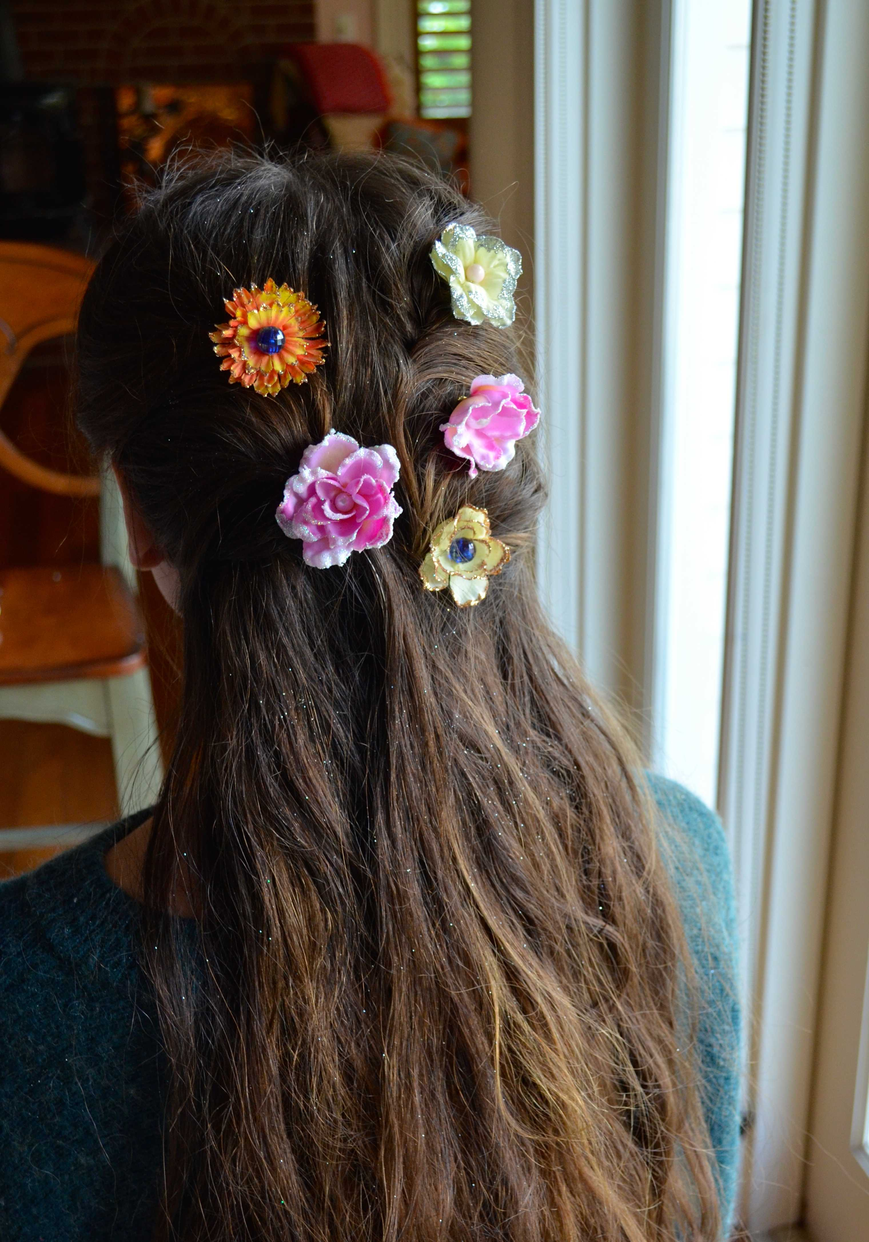 How to Make Flower Hair Accessories DIY Projects Craft