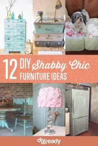 Shabby Chic Furniture Ideas DIY Projects Craft Ideas & How ...