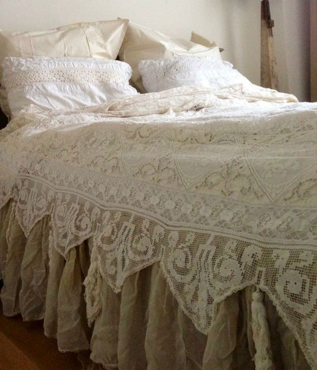 Shabby Chic Bedding Ideas DIY Projects Craft Ideas Amp How