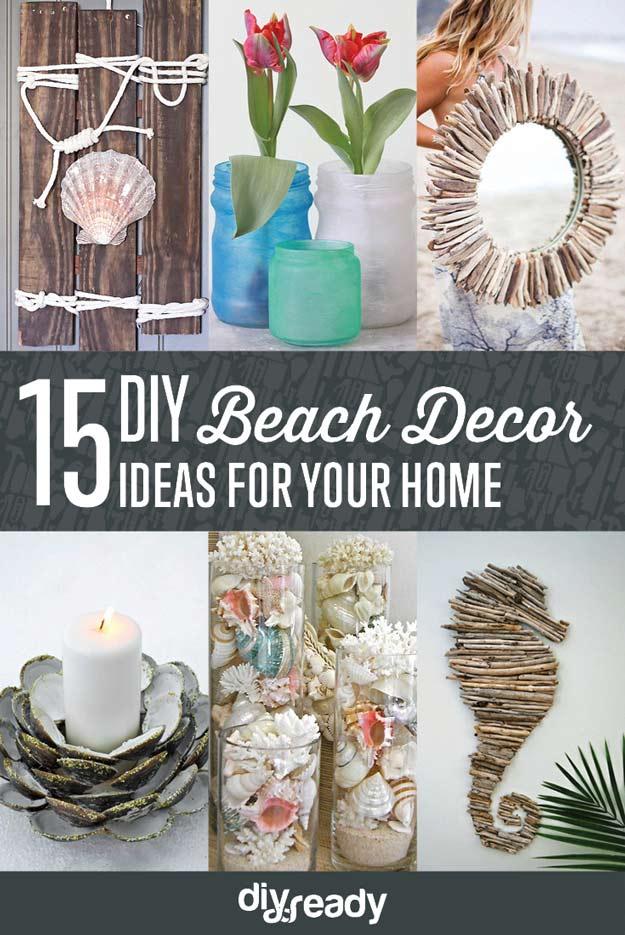 Beach Diy Decor Ideas 21