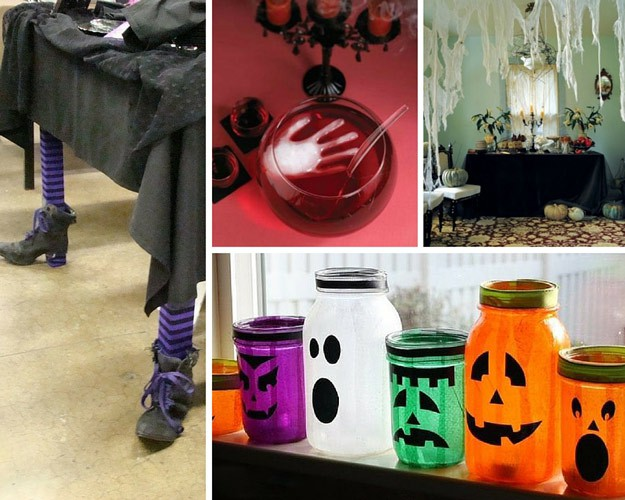 How To Throw A Halloween Party At Home DIY Projects Craft Ideas