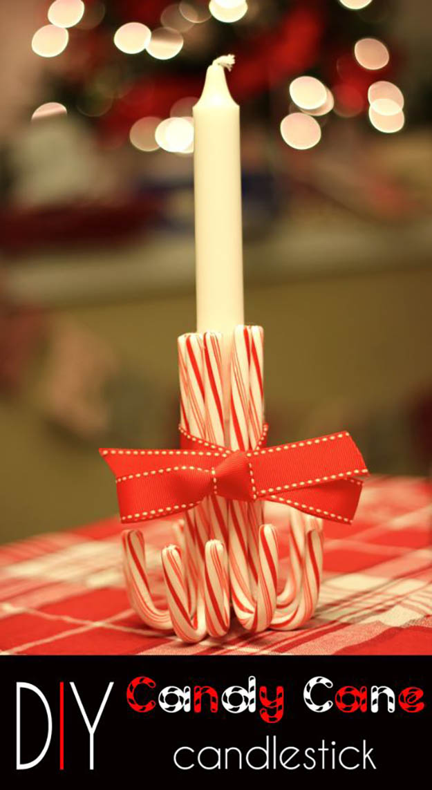 DIY Candy Cane Decorations DIY Projects Craft Ideas  How