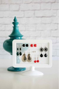 10 DIY Earring Holder Ideas DIY Projects Craft Ideas & How ...