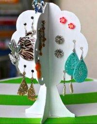 10 DIY Earring Holder Ideas DIY Projects Craft Ideas & How ...