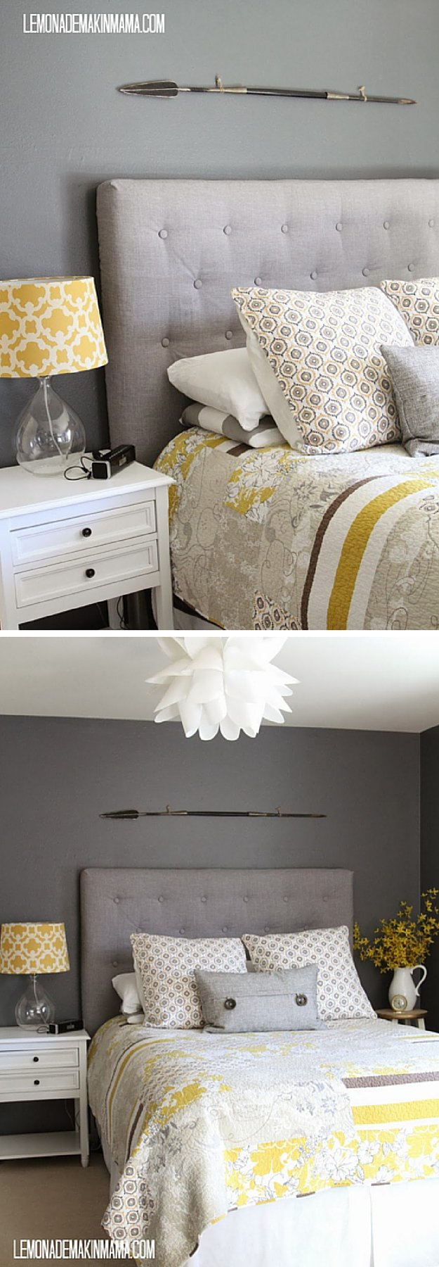 How To Make A Tufted Headboard DIY Projects Craft Ideas