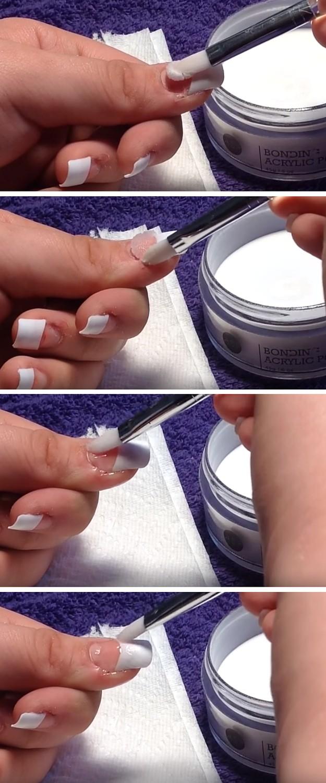 Acrylic Application Diy Nails