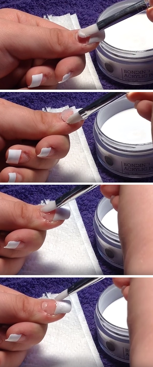 Image Led Do Acrylic Nails Step 1