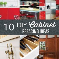 Kitchen Refinishing Ideas Green Countertops Cabinet Refacing Diy Projects Craft How To S For Home Change The Look Of Your Cabinets With These By At