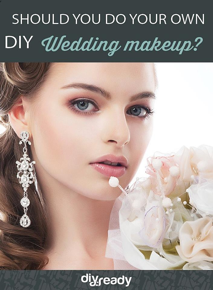 Pros and Cons of Doing Your Own Wedding Makeup DIY