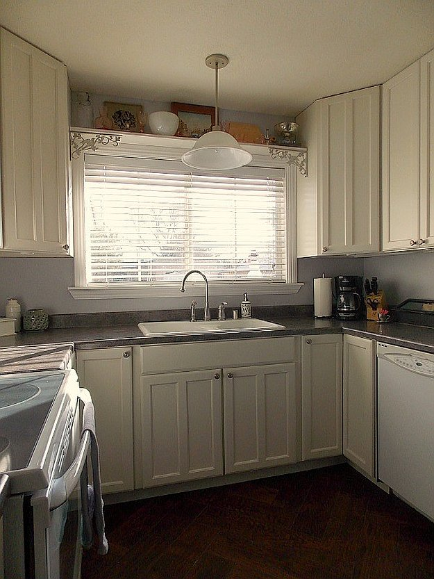 refacing kitchen cabinets before and after l type small design cabinet ideas diy projects craft & how to's ...